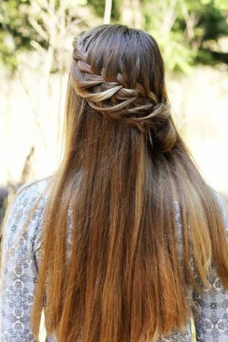 Pretty Ladder Braid Hairstyles picture 3