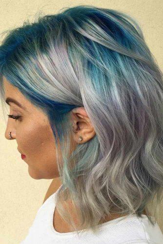 Fabulous Soft Colored Medium Hair picture2