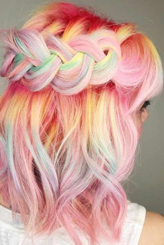 Fabulous Soft Colored Medium Hair picture1