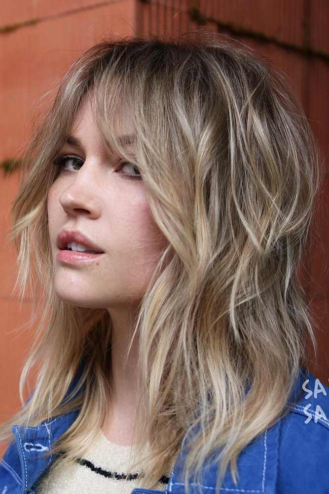 50 Chic Medium Length Layered Hair Lovehairstyles Com