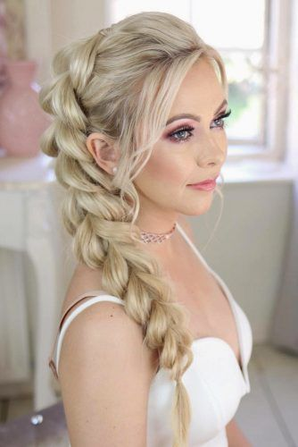 Side Amazing Braids For Prom #promhairstyles #longhair #hairstyles #braids
