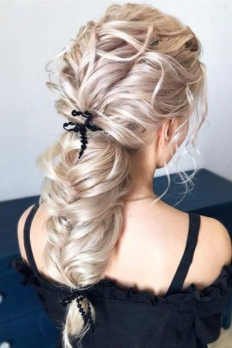Voluminous Amazing Braids For Prom #promhairstyles #longhair #hairstyles #braids