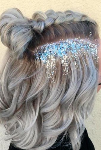 Glitter Space Buns picture 1