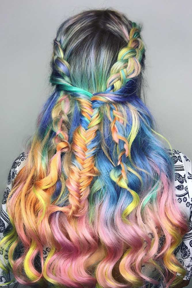 Mermaid Hair Color picture 1