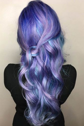 Inspirational Purple and Blue Hairstyles picture1