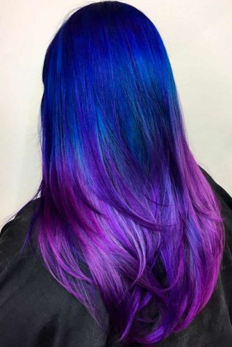 Inspirational Purple and Blue Hairstyles picture2