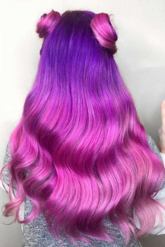 Inspirational Purple and Blue Hairstyles picture3