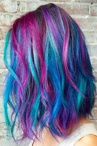 Light Blue and Light Purple Hair Color picture 3