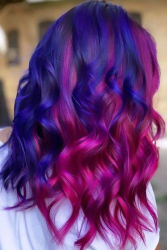 Berry Bloom #purplehair #bluehair