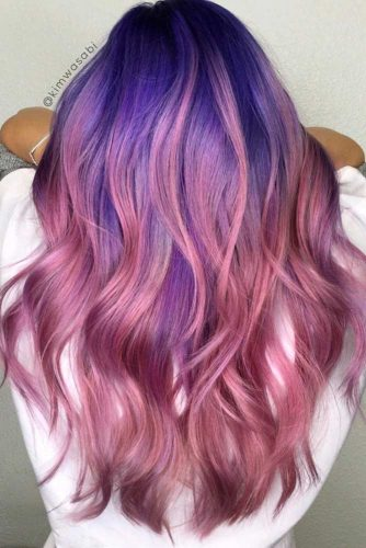 Amazing Blue and Purple Hair picture1