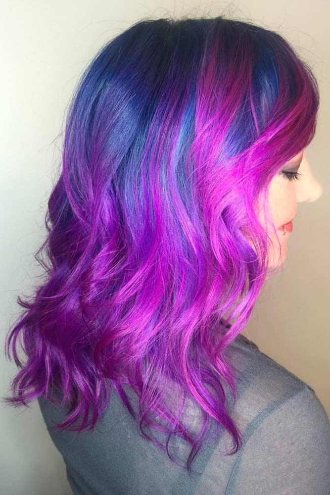 Amazing Blue and Purple Hair picture2