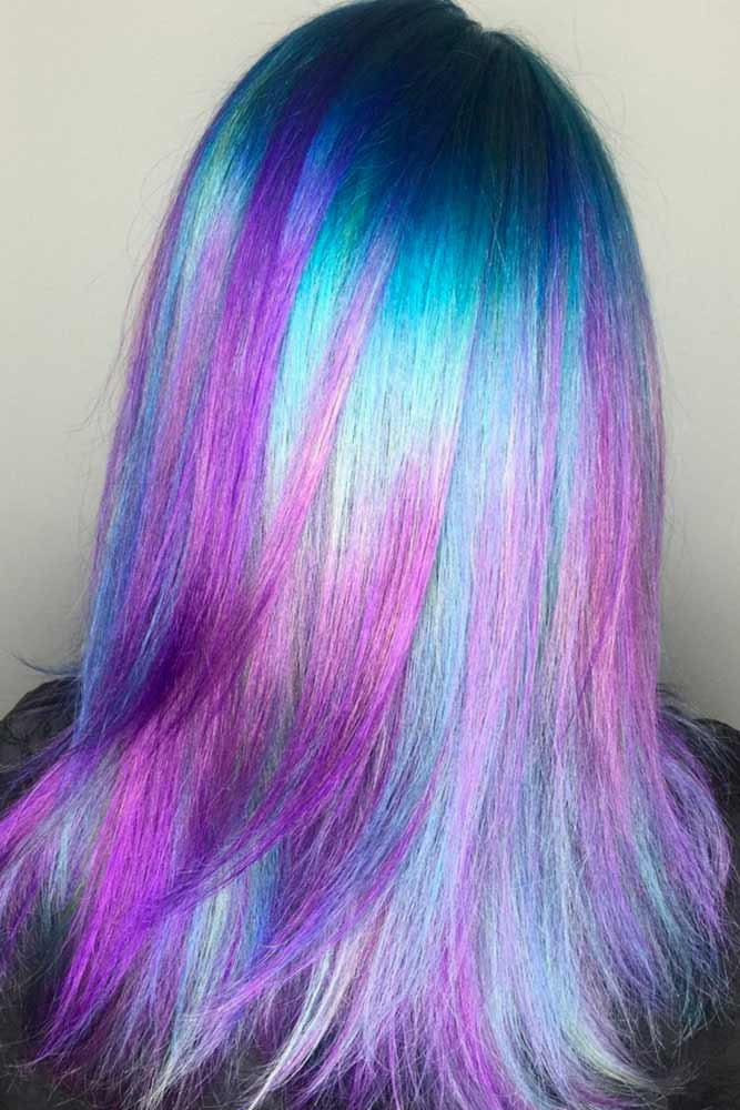 Charming Purple and Blue Hair picture2