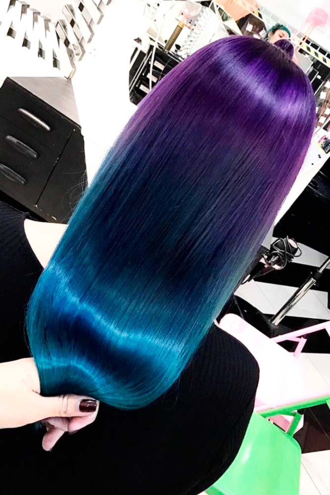 Amazing Blue and Purple Hair picture3
