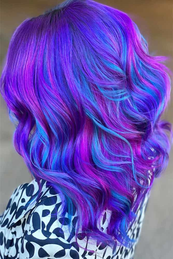 Tips And Tricks #purplebluehair