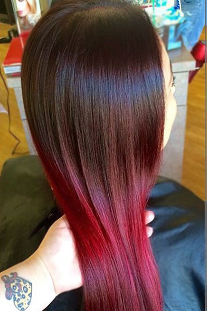 Red-Wine Ombre