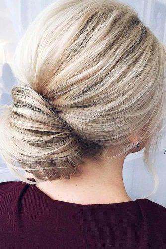Elegant Bun for Medium Hair picture 1
