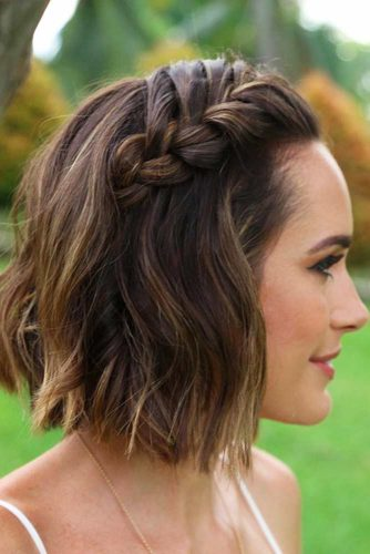 Lovely Hairstyles with Braids for Short Hair picture 2