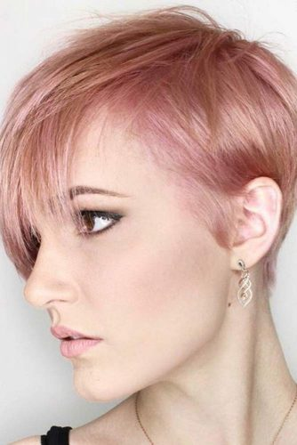 Lovely Short Hairstyles with Bangs picture 2