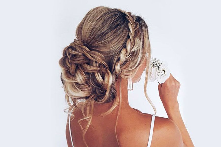 Styling Options For A Crown Braid
