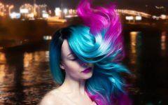 Beautiful Purple and Blue Hair Looks
