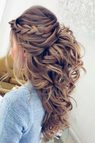 Wedding Image for a Curly Bride picture1