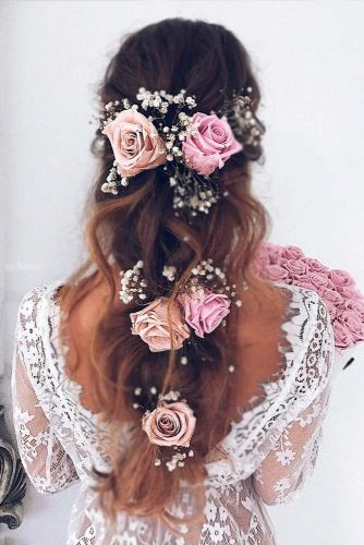 Chic Wedding Hairstyles for Long Hair picture 2