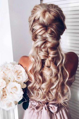 Half Down Wedding Hairstyles picture3
