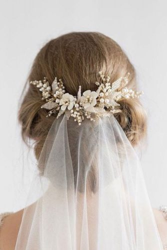Wedding Hairstyles for Long Hair With Veils picture 3