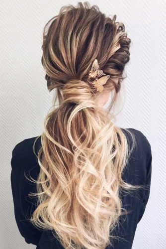 Gorgeous Low Ponytails For An Amazing Look picture 3