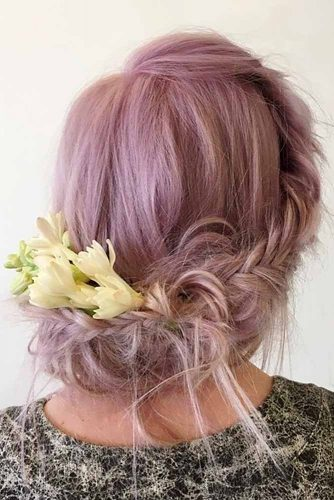 Wedding Hairstyles with Flower picture3