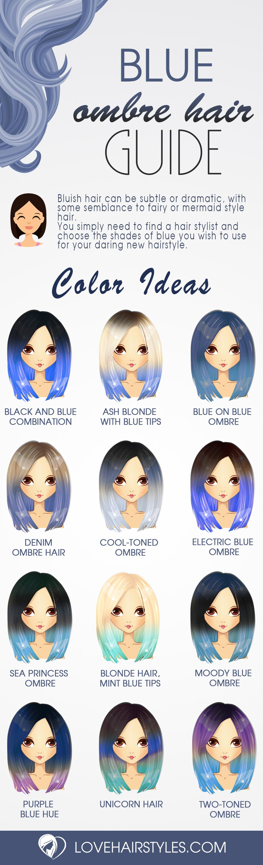 Stunning Styles for Blue Ombre Hair That Will Make You Flip!