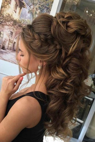 Lovely Half Up Half Down Hairstyles picture 2