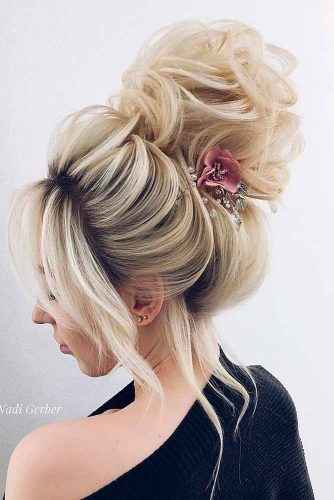 Beautiful Bun Hairstyles for Cute Brides picture2