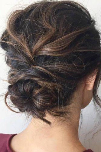 Twisted Buns for Your Medium Hair picture 1