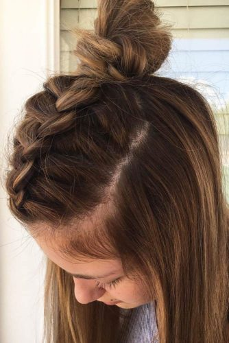 Wear Braided Hairstyle and Look Like Hollywood Diva picture 3