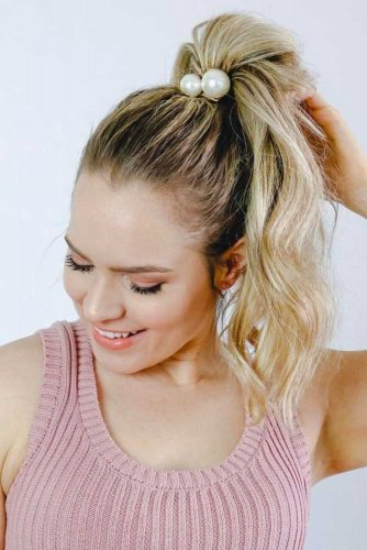 Hairstyles with Pretty Ponytail picture 2