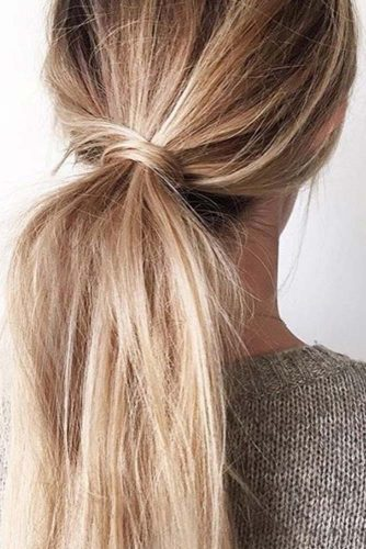 Hairstyles with Pretty Ponytail picture 3