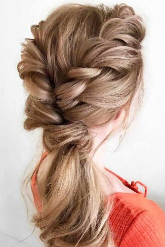 Lovely Braided Ponytail picture 3