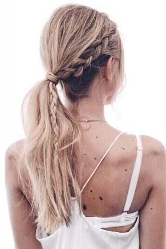 Lovely Braided Ponytail picture 2