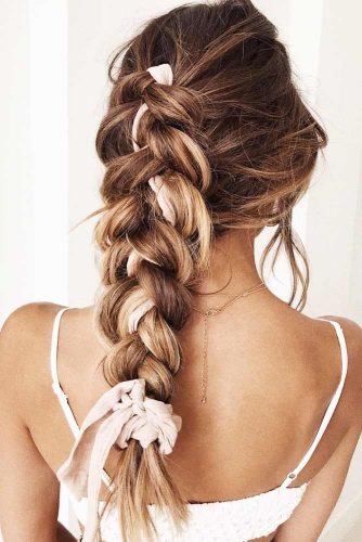 Fancy Braids With Shawl Ideas Fauxhawk #braids #fauxhawk #longhair