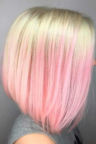 Blonde Pink Ombre