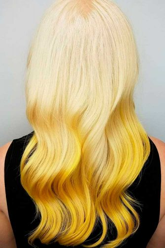 Gaga Inspired Yellow