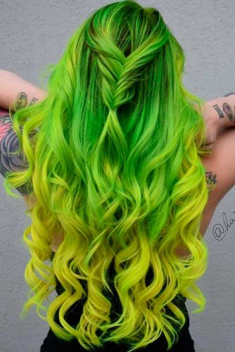 Lime to Yellow