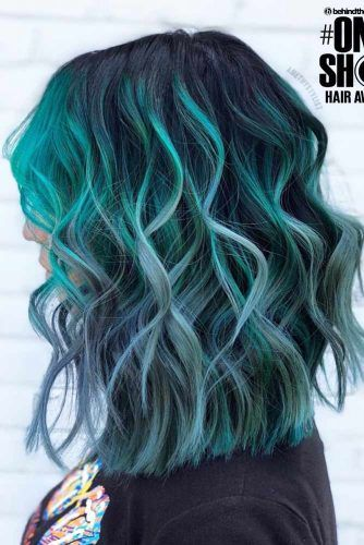 Rooted Mint #greenhair #haircolor