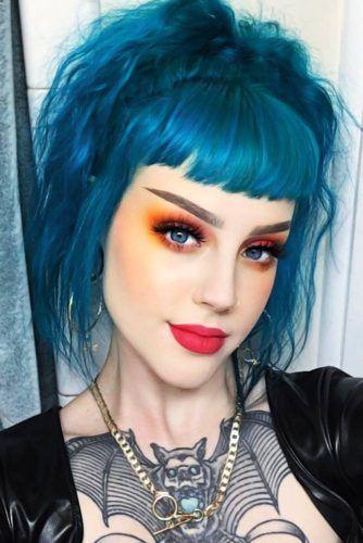 Turquoise Hair #greenhair