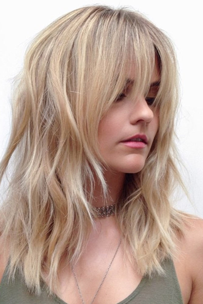 Style Your Medium Length Hair with Bangs picture 2