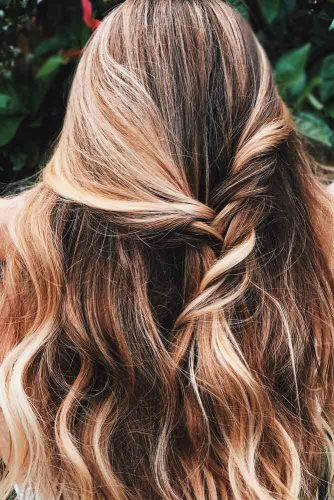Girly Half Up Half Down Hairstyles picture 1