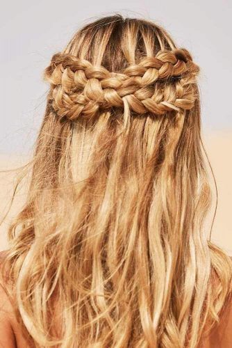 Girly Half Up Half Down Hairstyles picture 3