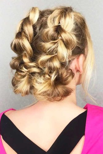 Loose Curls, Braids, and Messy Updos picture 2