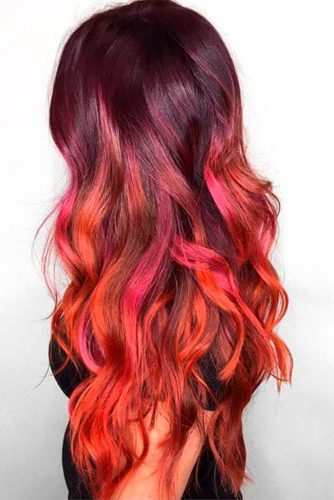 Bright Red Curls
